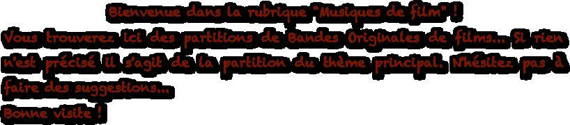 partition gratuite flute traversiere musique film